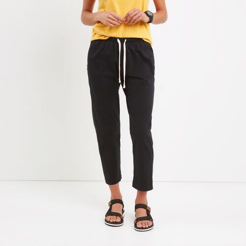 Roots-Women Pants-Woodland Jogger-Black-A