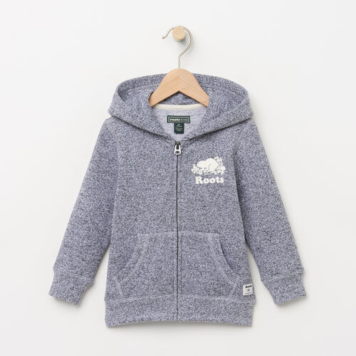 Roots-Kids Toddler Boys-Toddler Original Full Zip Hoody-Salt & Pepper-A