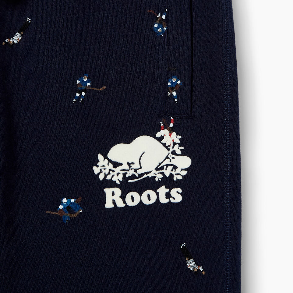 Roots-Kids Our Favourite New Arrivals-Boys Hockey AOP Sweatpant-Cascade Blue-D