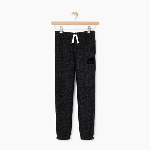 Roots-Kids Bottoms-Boys Original Sweatpant-Black Pepper-A