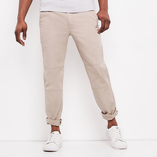 Roots-Winter Sale Bottoms-Sail Pant-Essential Khaki-A