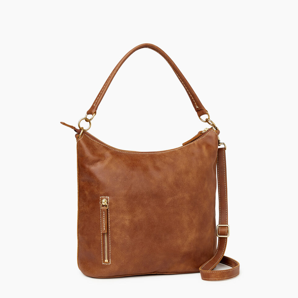 Roots-Leather  Handcrafted By Us Our Favourite New Arrivals-Ella Bag-Natural-C
