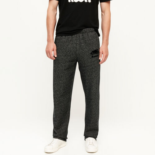 Roots-Men Bestsellers-Heritage Sweatpant-Black Pepper-A