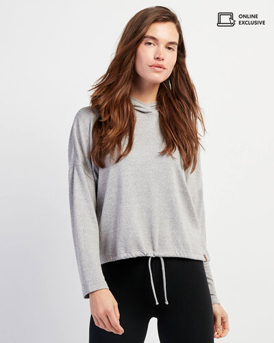 Roots-Sale Tops-Camrose Hoody-Grey Mix-A