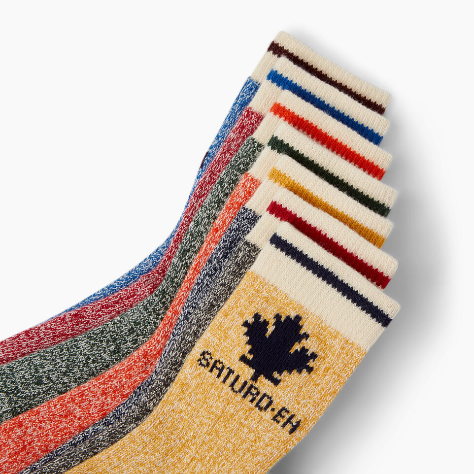 Roots-Kids Our Favourite New Arrivals-Toddler Days Sock 7 Pack-Multi-D