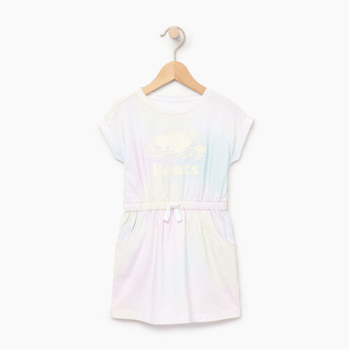 Roots-Kids Our Favourite New Arrivals-Toddler T-shirt Dress-Ivory-A