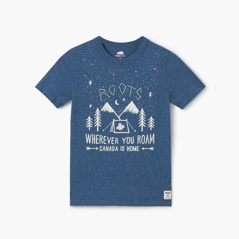 Roots-undefined-Boys Roots Outdoors T-shirt-undefined-A