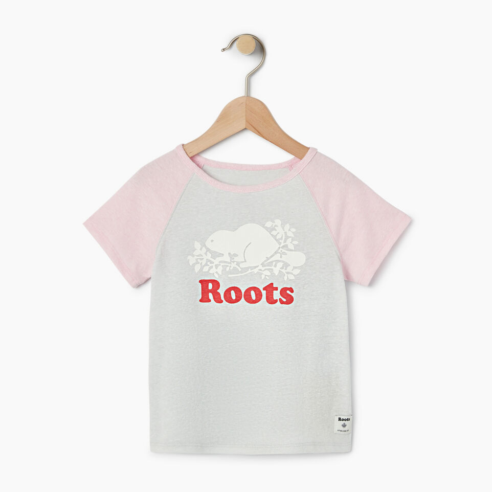 Roots-Kids Our Favourite New Arrivals-Girls Cooper Beaver Raglan Top-undefined-A