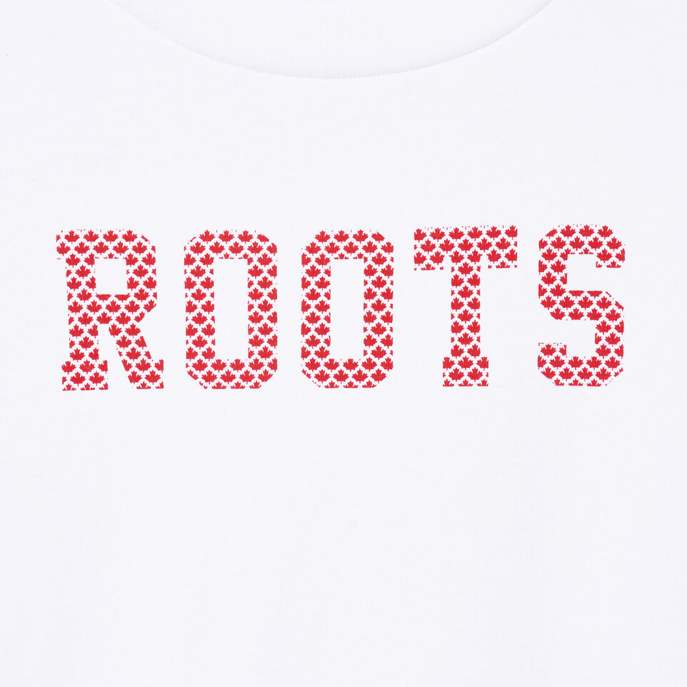 Roots-undefined-Womens Maple Roots T-shirt-undefined-D