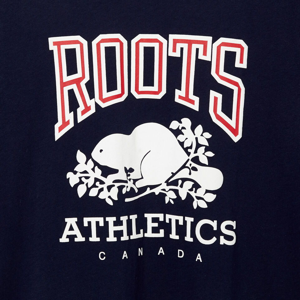 Roots-New For March Rba Collection-Mens RBA T-shirt-Navy Blazer-C
