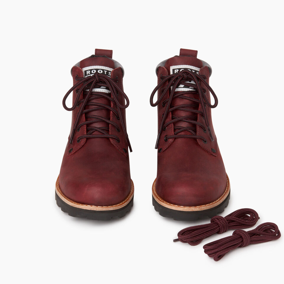 Roots-Women Clothing-Womens Tuff Boot-Red Sea-D