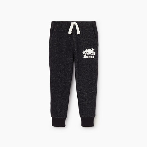 Roots-Kids New Arrivals-Toddler Park Slim Sweatpant-Black Pepper-A