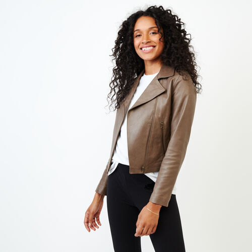 Roots-Women Categories-Shay Jacket Vegetal-Grey-A