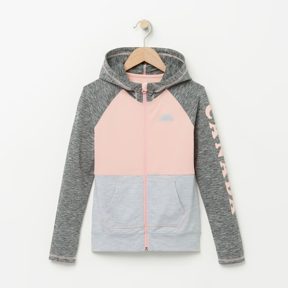Roots-Girls Lola Active Full Zip Hoody