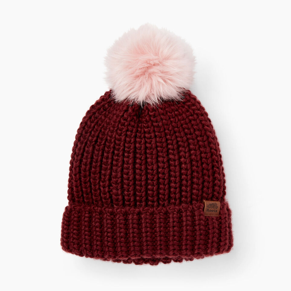 Roots-Winter Sale Kids-Kids Olivia Toque-Northern Red-A