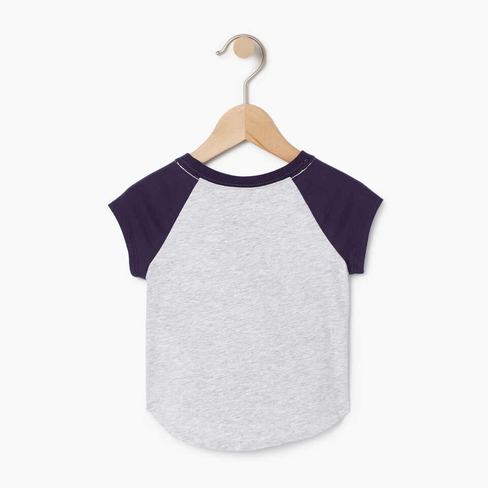 Roots-Kids Our Favourite New Arrivals-Baby Splatter Raglan T-shirt-Snowy Ice Mix-B