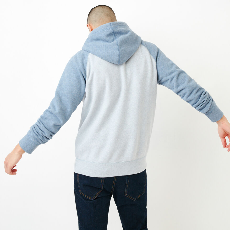 Roots-Men Our Favourite New Arrivals-Cooper Kanga Hoody-Celestial Blue Mix-D