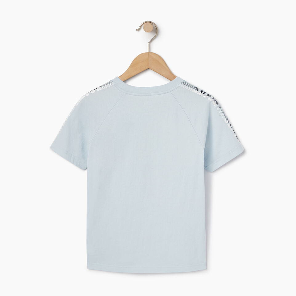 Roots-Kids New Arrivals-Boys Speedy Frank T-shirt-Baby Blue-B