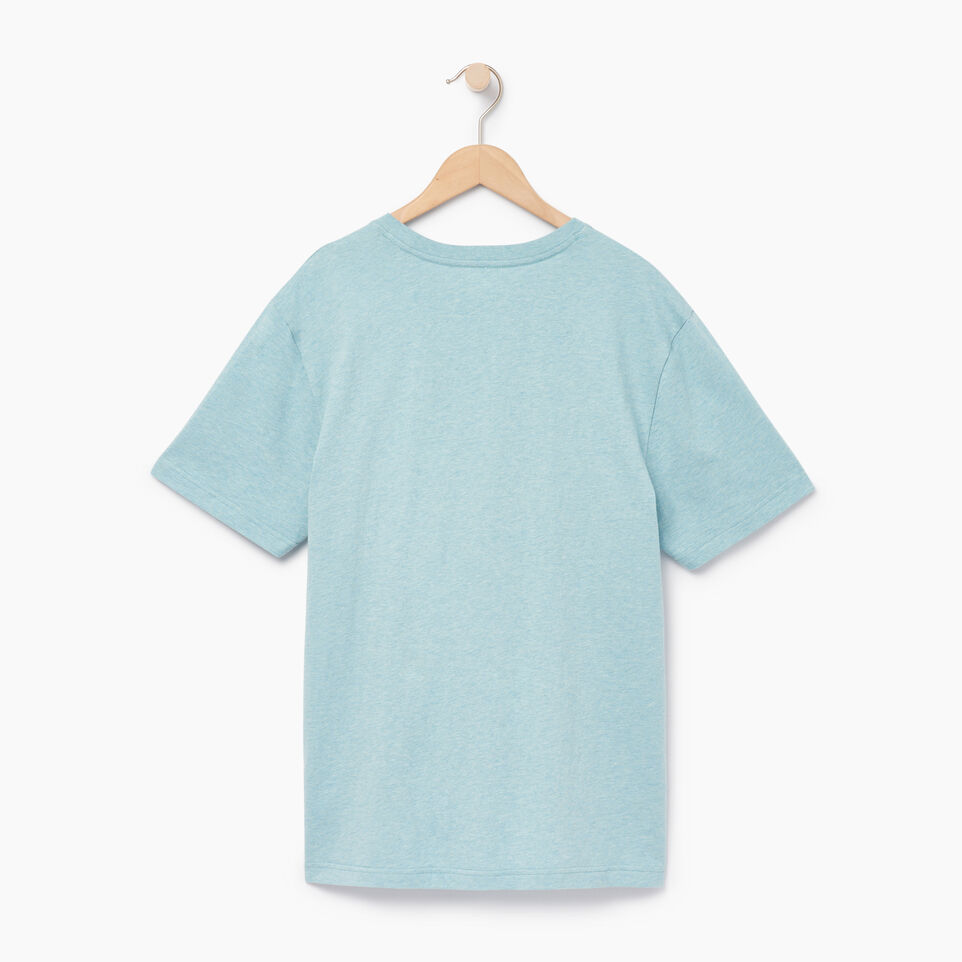 Roots-Men Our Favourite New Arrivals-Mens Friends T-shirt-Cameo Blue Pepper-B