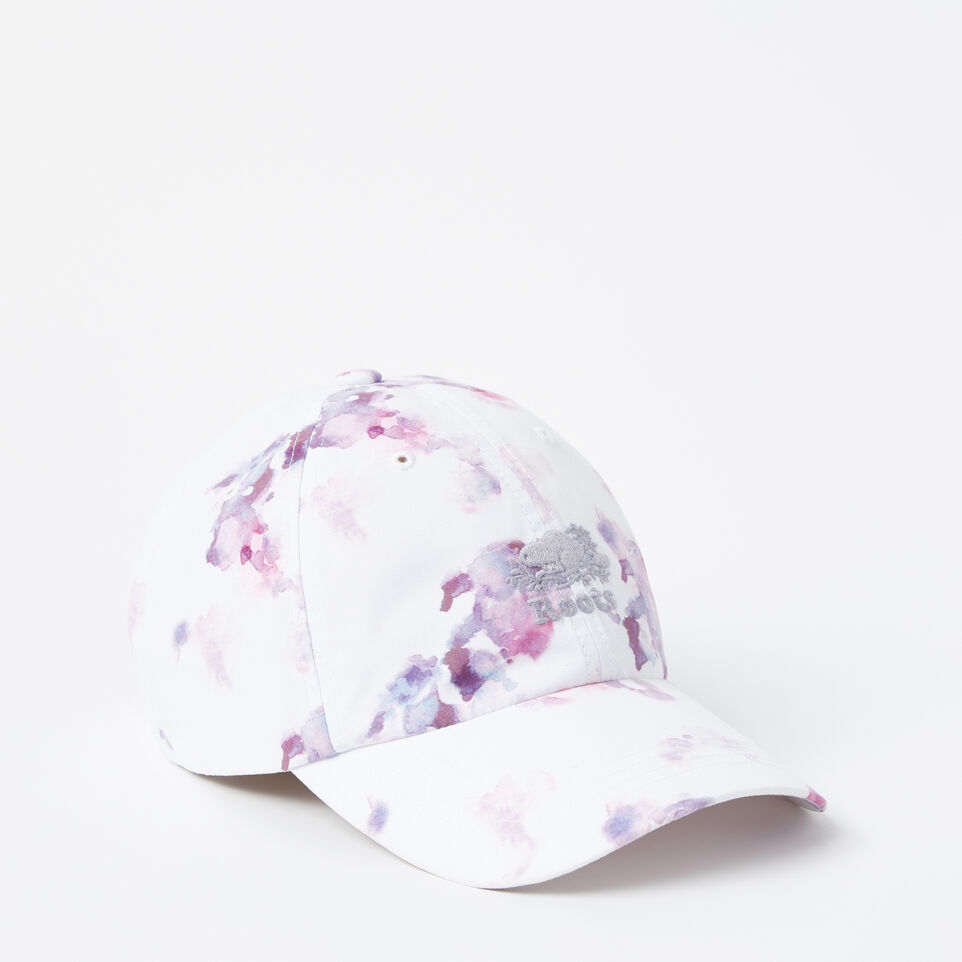 Roots-undefined-Watercolour Baseball Cap-undefined-A