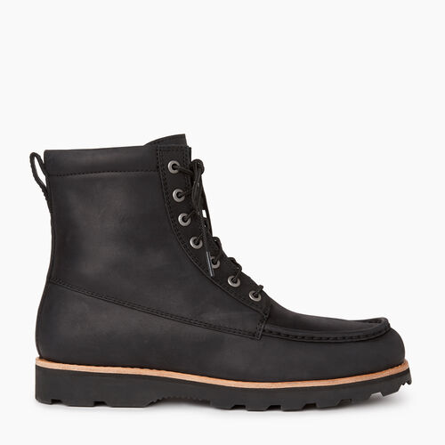 Roots-Footwear Men's Footwear-Mens Beltline Boot-Black-A