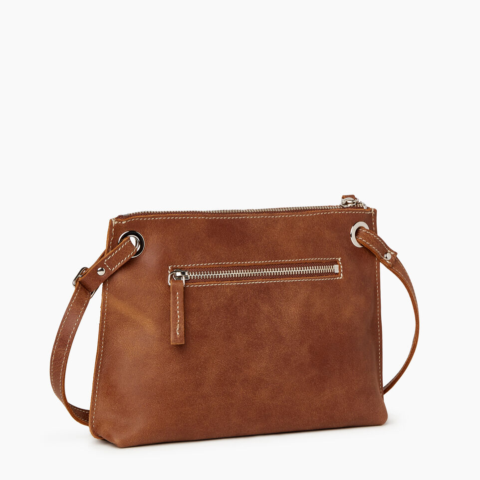 Roots-Leather  Handcrafted By Us Our Favourite New Arrivals-Edie Bag-Natural-C