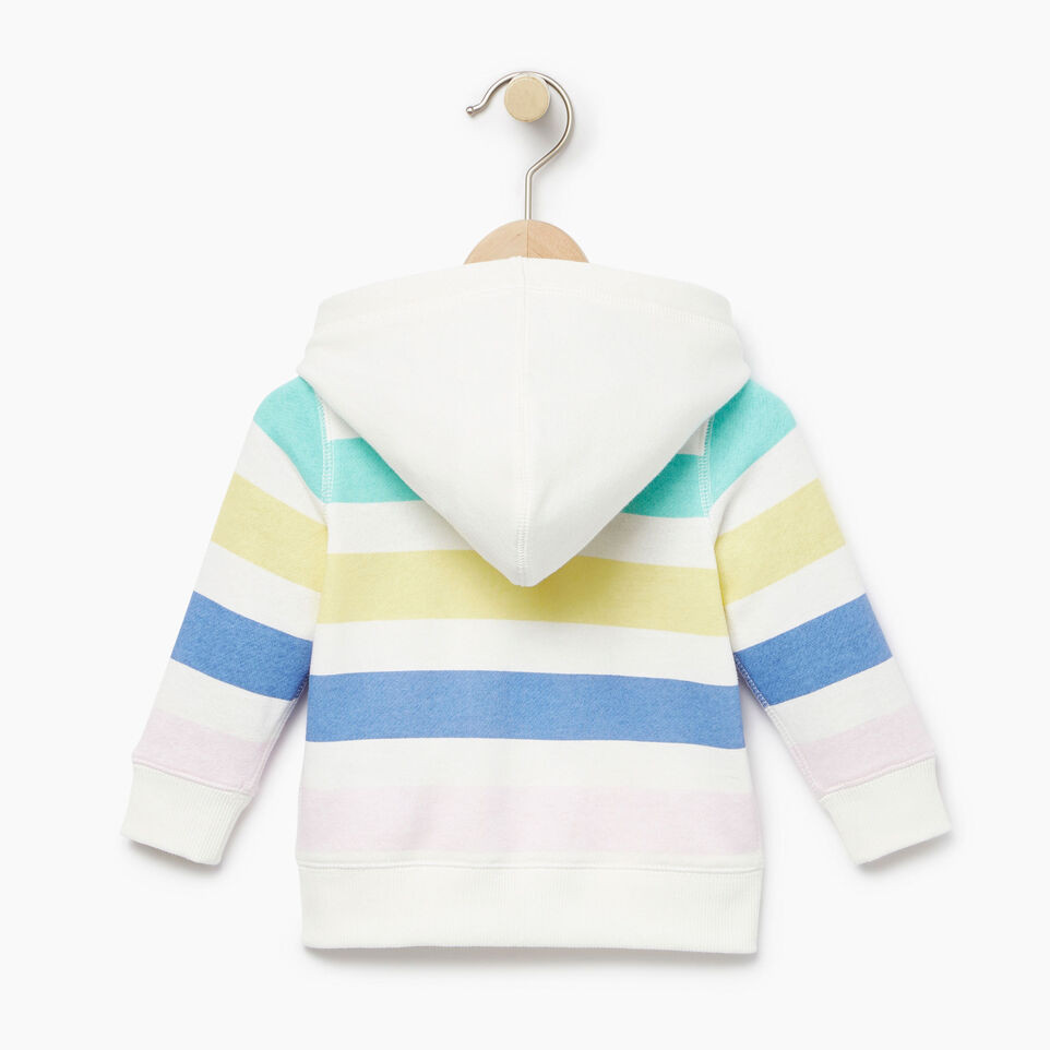Roots-undefined-Baby Ombre Stripe Full Zip Hoody-undefined-B