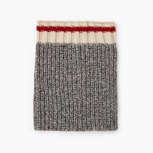 Roots-Kids Accessories-Kids Cabin Snood-Grey Oat Mix-A