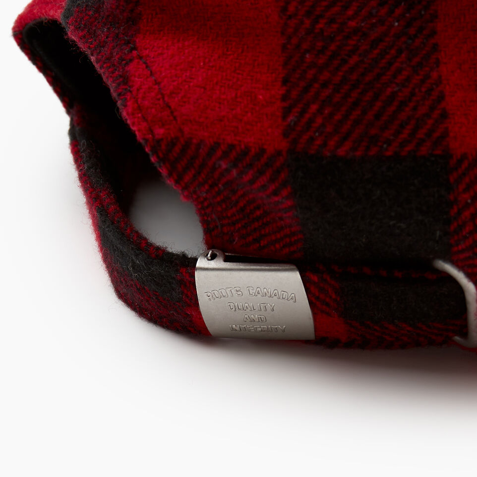 Roots-undefined-Park Plaid Leaf Baseball Cap-undefined-F