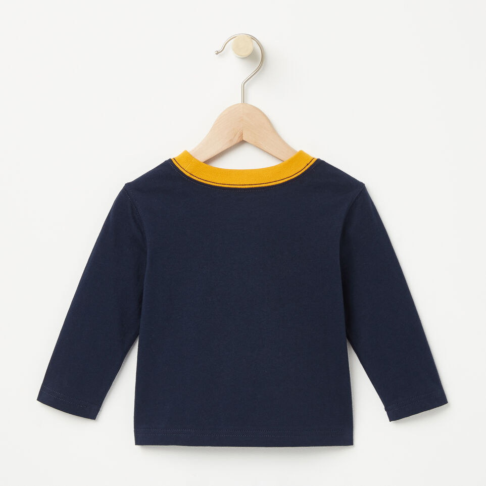 Roots-undefined-Baby RBA Ringer T-shirt-undefined-B