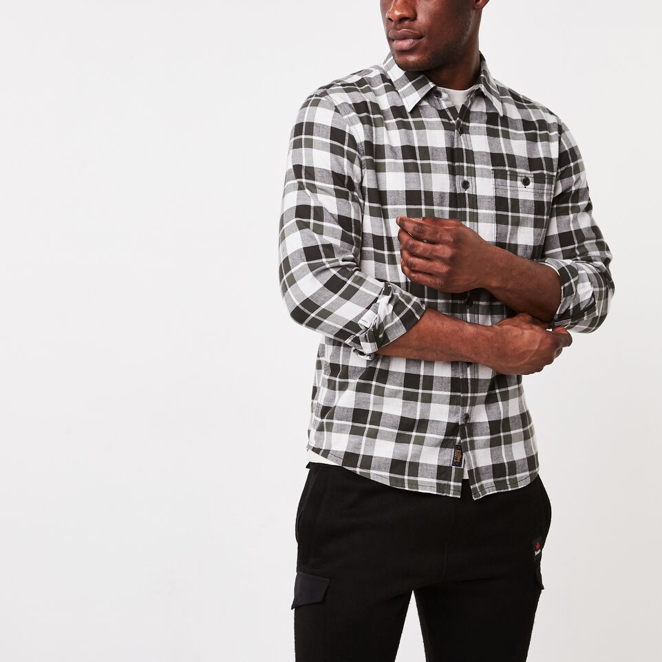 Roots-undefined-Yukon Flannel Shirt-undefined-A
