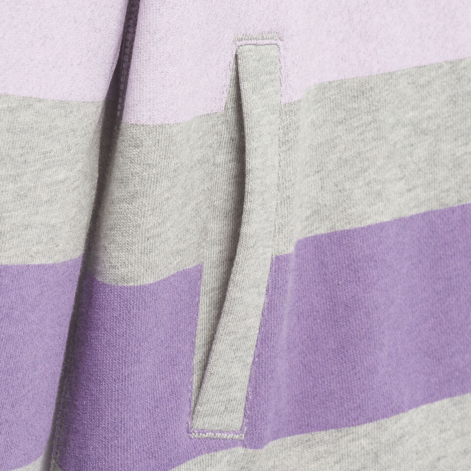 Roots-Kids New Arrivals-Girls Ombre Stripe Full Zip Hoody-Grey Mix-E