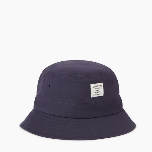 Roots-Women Our Favourite New Arrivals-Roots Bucket Hat-Navy-A