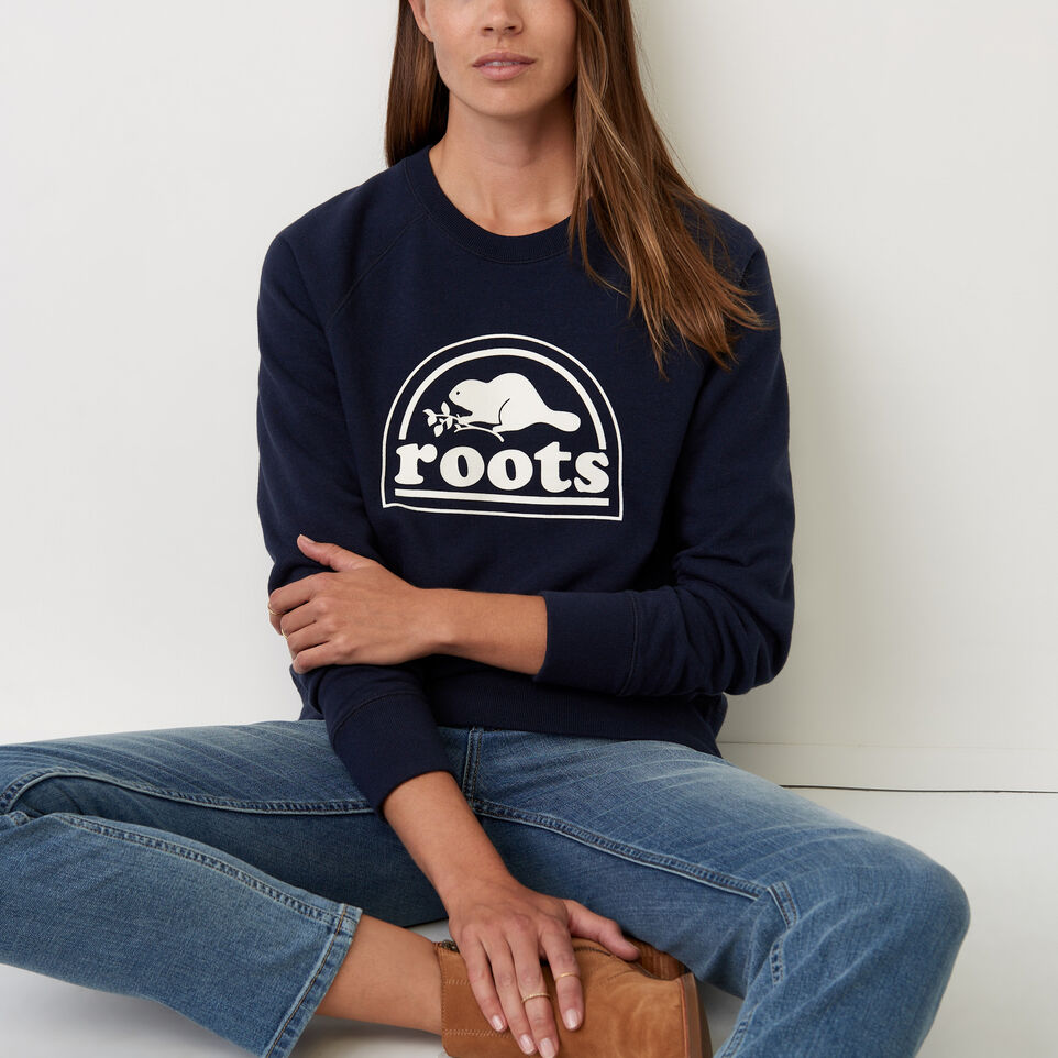 Roots-Vault Fleece Crew Sweatshirt