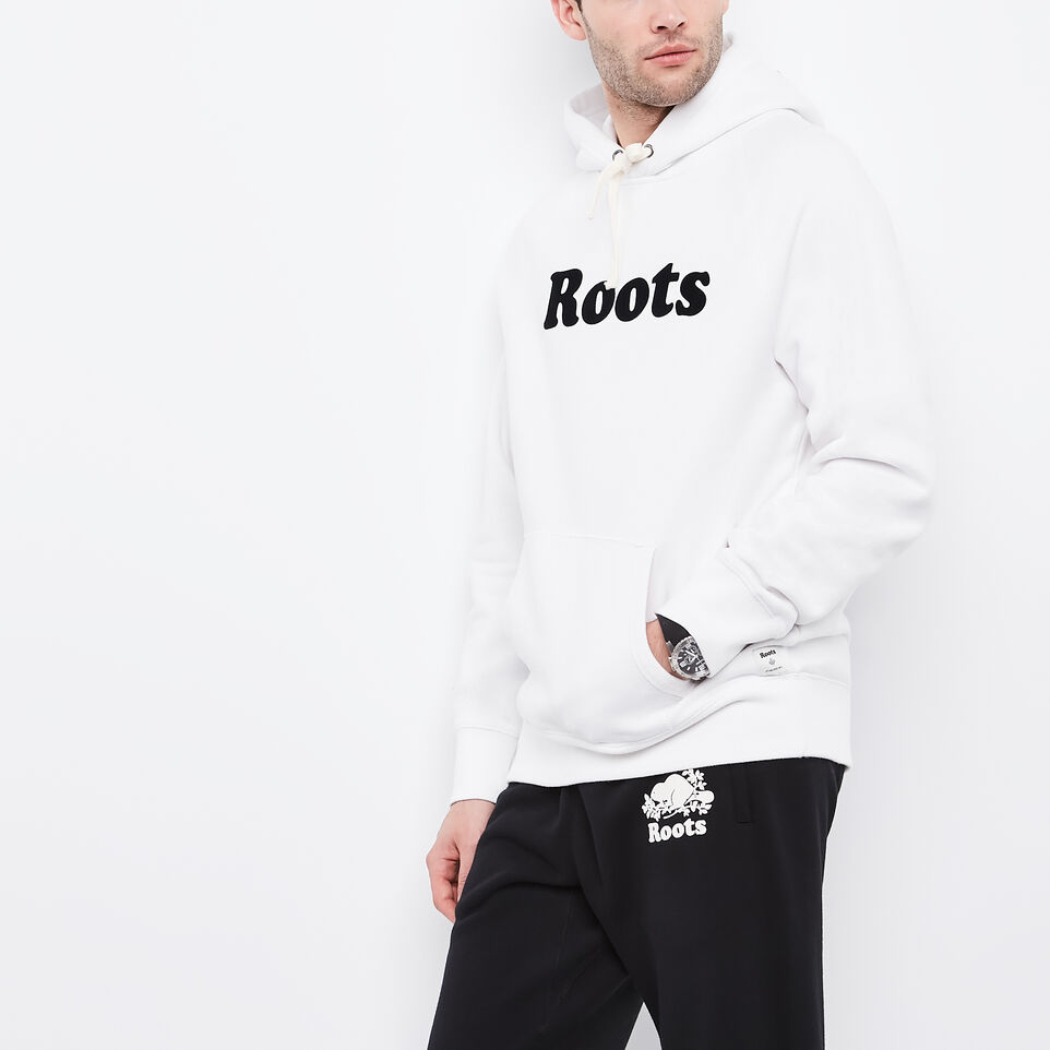 Roots-undefined-Original Wordmark Kanga Hoody-undefined-A