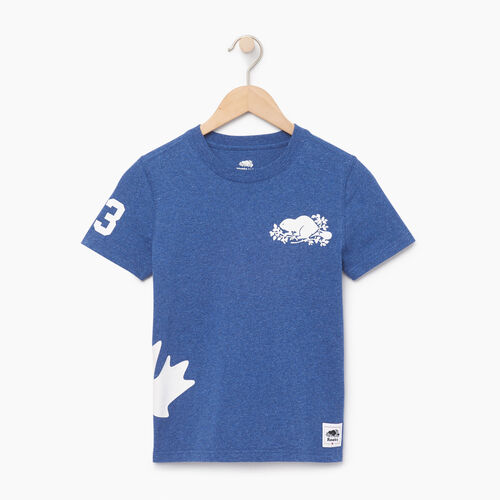 Roots-Kids Our Favourite New Arrivals-Boys Bedford T-shirt-Active Blue Mix-A
