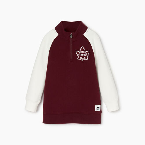 Roots-Kids Our Favourite New Arrivals-Toddler Canada Stein Tunic-Northern Red-A