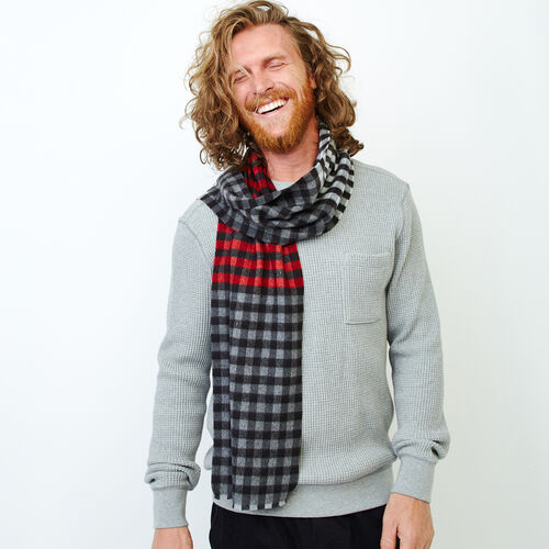 Roots-Clearance Men-Ottawa Scarf-Multi-A