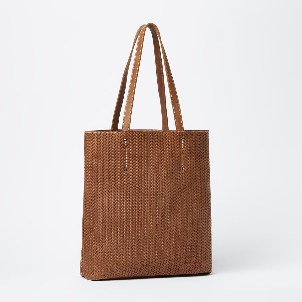 Roots-undefined-Large Downtown Tote Woven Tribe-undefined-C