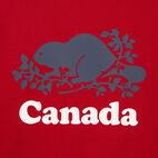 Roots-Kids Our Favourite New Arrivals-Boys Cooper Canada Ringer T-shirt-Sage Red-D