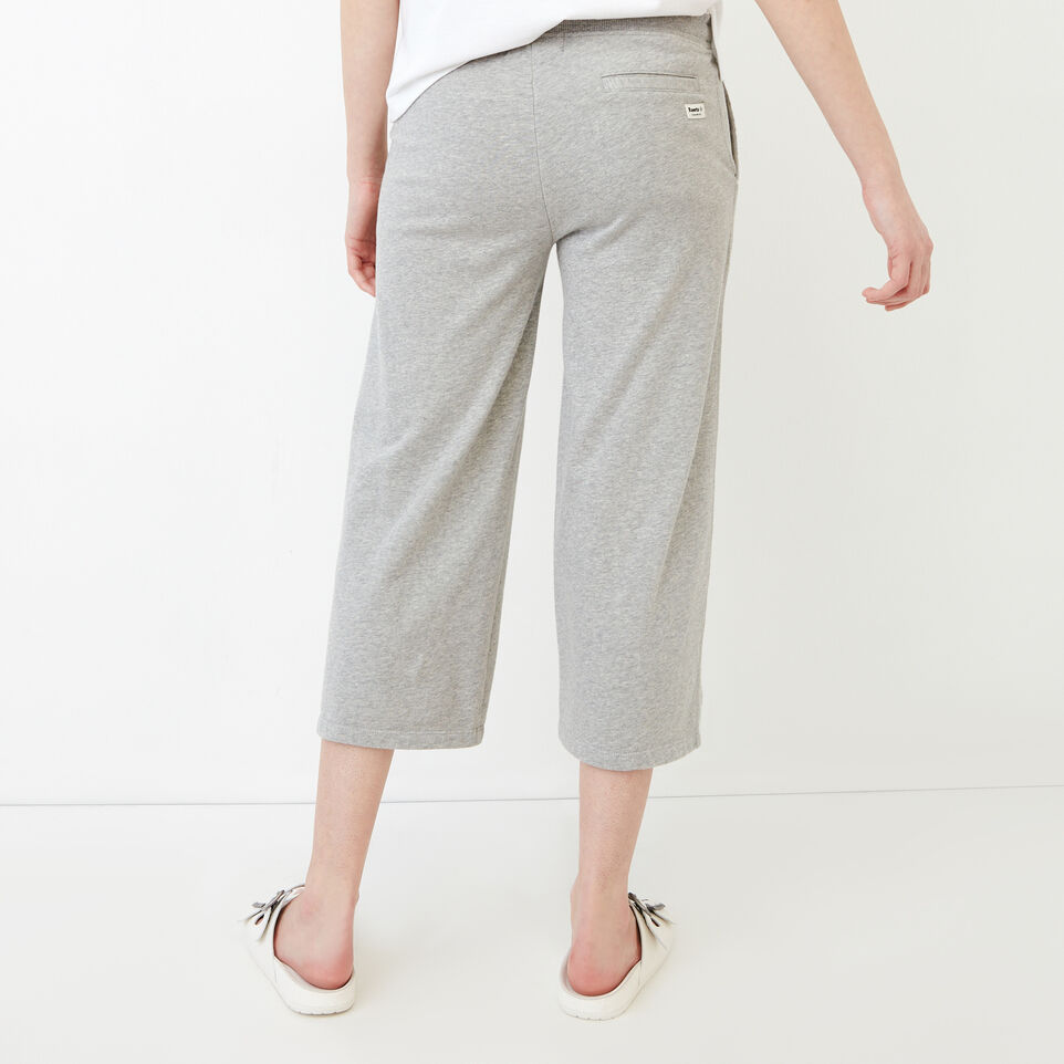 Roots-Sweats Sweatpants-Melange Terry Sweatpant-Grey Mix-D