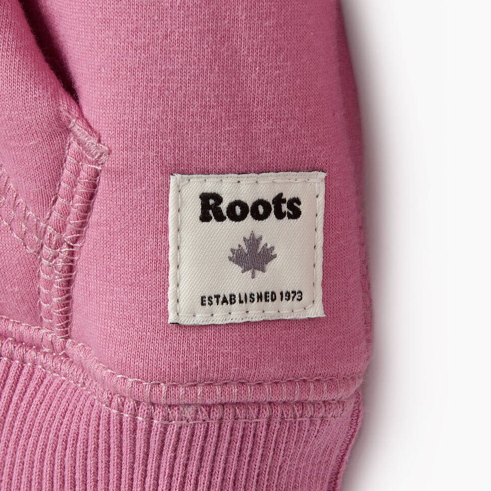 Roots-New For December Kids-Baby Sherpa Lined Full Zip Hoody-Mauve Orchid-D