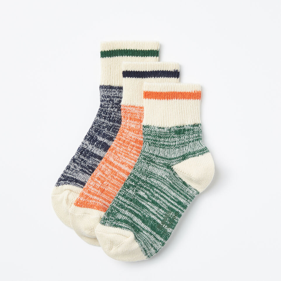 Roots-Kids Park Ankle Sock 3 Pack