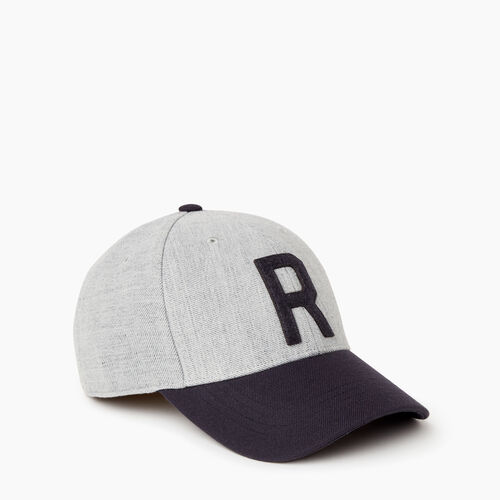 Roots-Men Our Favourite New Arrivals-Two Tone Baseball Cap-Grey Mix-A