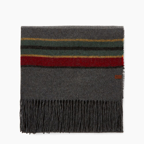 Roots-Women Accessories-Elkwater Scarf-Charcoal Mix-A