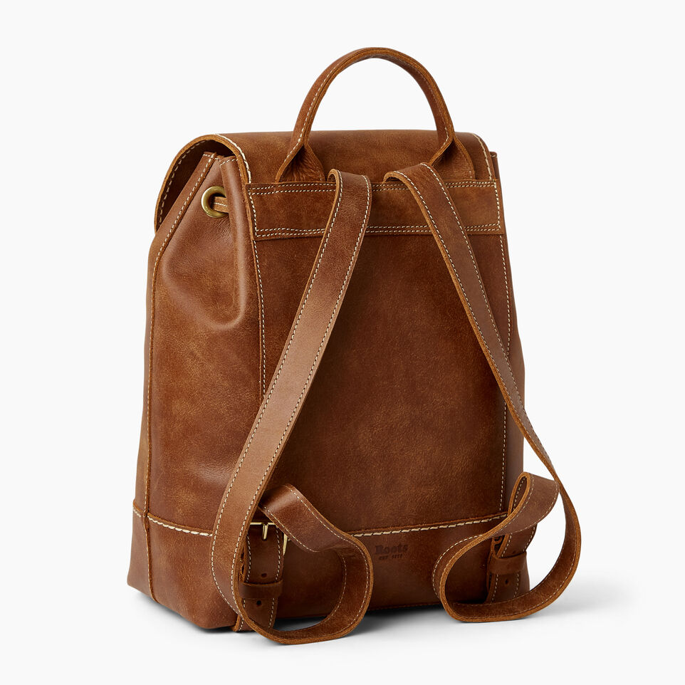Roots-Leather Our Favourite New Arrivals-Sandbanks Pack-Natural-C