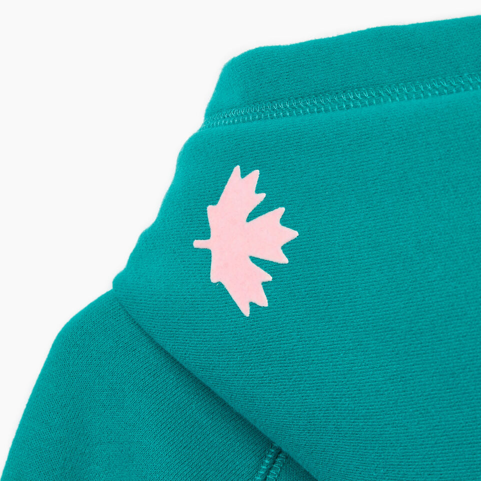Roots-Kids New Arrivals-Girls Original Kanga Hoody-Dynasty Turquoise-E