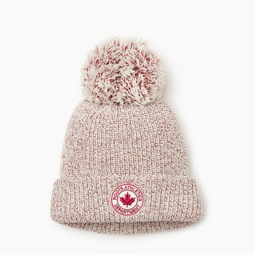 Roots-Sale Girls-Kids Snowy Fox Toque-Cherries Jubilee-A