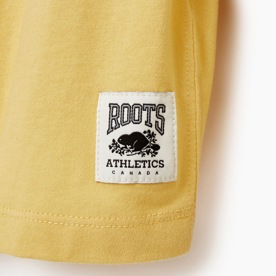 Roots-New For March Rba Collection-Womens RBA Long Sleeve T-shirt-Canary Yellow-D