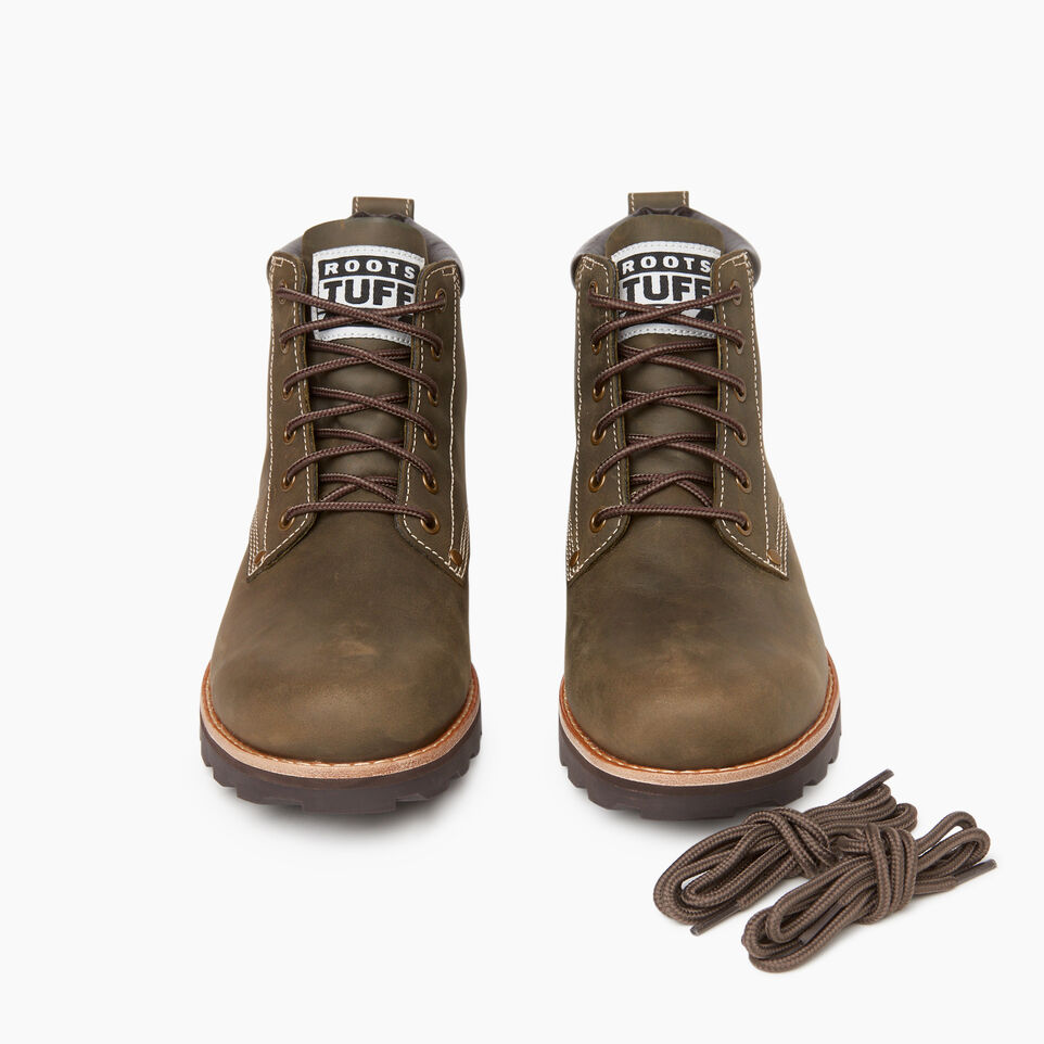 Roots-Footwear Our Favourite New Arrivals-Mens Tuff Boot-Olive Night-D